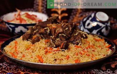 See usbeki plov - retseptid ja toiduvalmistamise saladused. Kuidas teha Usbekistani lambaliha, kana, kuivatatud puuviljadega