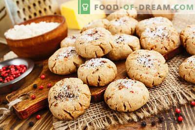 Biscotti di farina d'avena con ricotta - dolci delicati per tutti i giorni. Semplici ricette per biscotti di farina d'avena con cagliata e farina