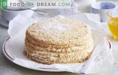 Honey Cake: samm-sammult retsept oma lemmikuks magustoiduks! Maitsva mee kookide valmistamine tõestatud samm-sammult retseptidega