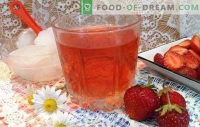 Maasika kompott - laua ja talve retseptid. Mündi ja vanilje, kirsi ja oranžiga: parimad maasikakompotid