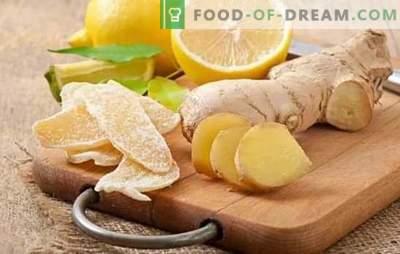 Candied ingver on universaalne külmavärv ja kasulik delikatess. Lihtsad retseptid suhkrustatud ingveri valmistamiseks