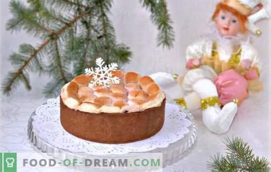 Торта со зеленчук е деликатно лекување. Како да се пече торта со крем или soufflé на маршмалоус, како да се направи без печење