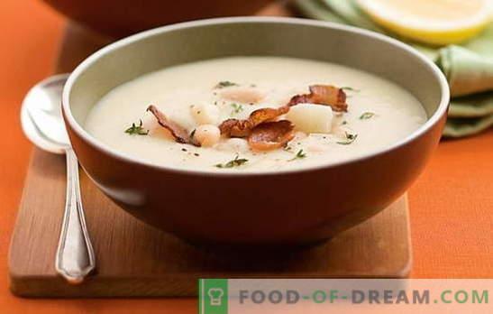 Valge oadupp - meeldiv tuttav! Retseptid erinevate valge oaduppide jaoks: tomat, liha, juust, suitsutatud, seene