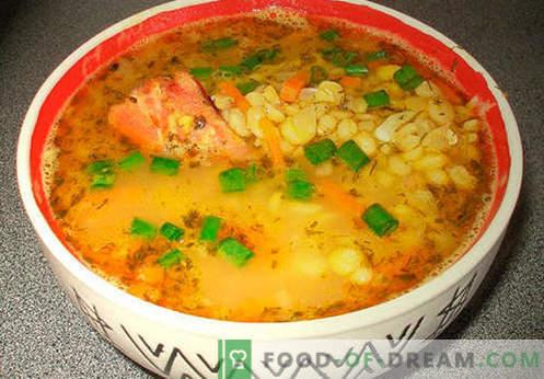 Kartuli supp - tõestatud retseptid. Kuidas õigesti ja küpsetatud kartuli supp.