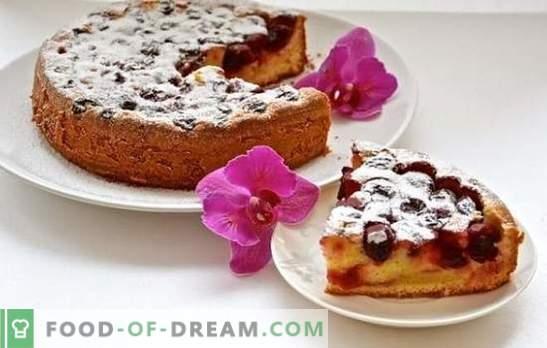 Cherry pie multikookeris on magusa taina ja hapu täidise täielik harmoonia. Cherry pie retseptid aeglases pliidis igale maitsele