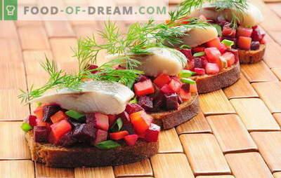 Hariliku vinigreti kasutamine on tavapäraste toiduainete ebatavaline kombinatsioon. Kuidas valmistada maitsvat vinaigretti heeringaga: parimad retseptid