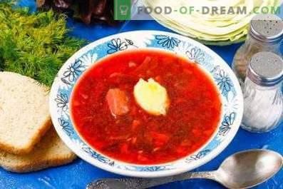 Kuidas teha peedi supp punase suhkrupeediga