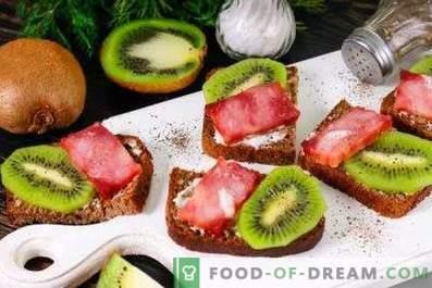 Kiwi võileivad