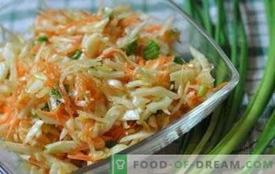 Salatid kapsas ja äädikas