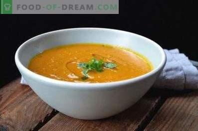 Zuppa di purea di ceci