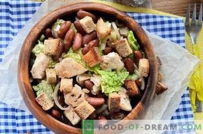 Салати со пилешко и грав