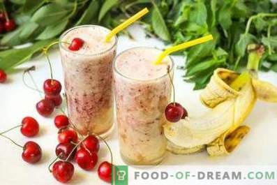 Cherry Smoothies