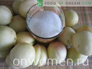Kollitseeritud aprikoosi seemneteta